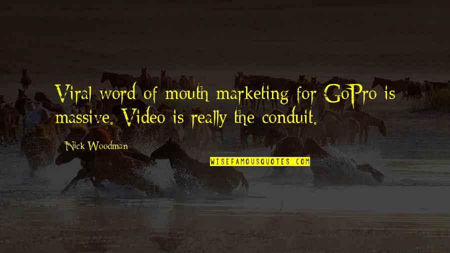Harry Potter Romione Quotes By Nick Woodman: Viral word-of-mouth marketing for GoPro is massive. Video
