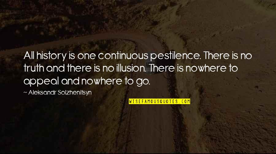 He Always Got My Back Quotes By Aleksandr Solzhenitsyn: All history is one continuous pestilence. There is