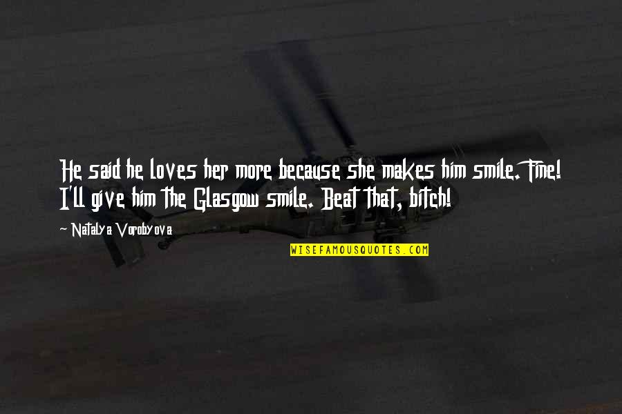 He Makes Her Smile Quotes: top 1 famous quotes about He ...