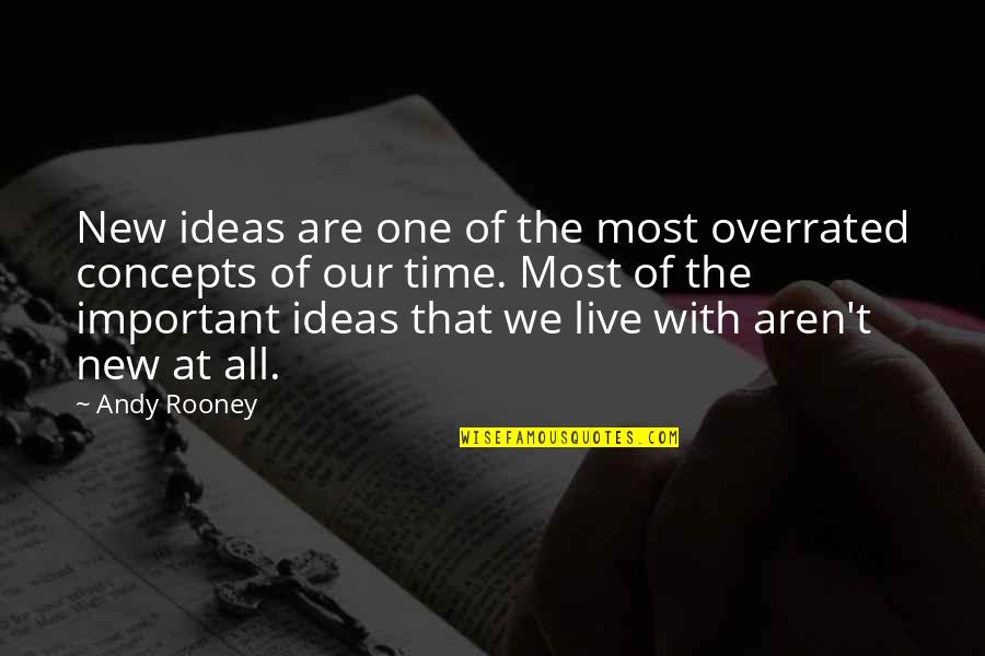 Henry Viii Brainy Quotes By Andy Rooney: New ideas are one of the most overrated