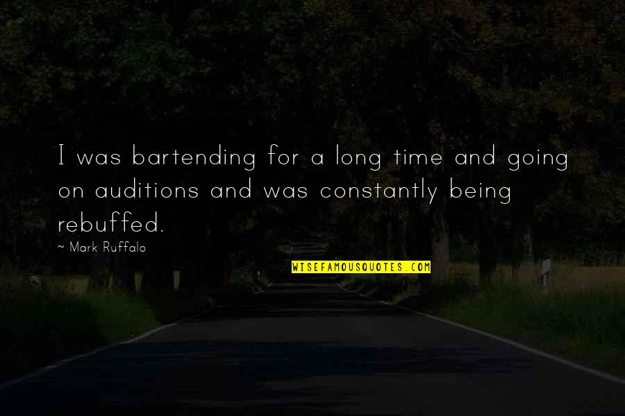 Hindi Font Sad Love Quotes By Mark Ruffalo: I was bartending for a long time and