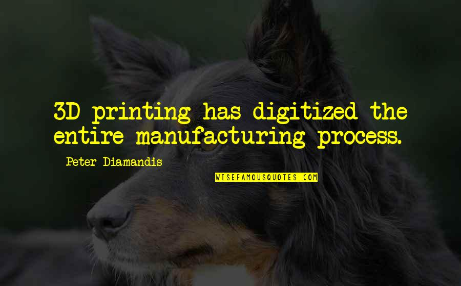 Hindi Stories Based On Quotes By Peter Diamandis: 3D printing has digitized the entire manufacturing process.