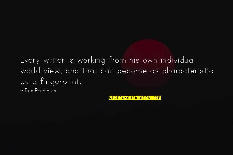 Hollard Car Insurance Quotes By Don Pendleton: Every writer is working from his own individual