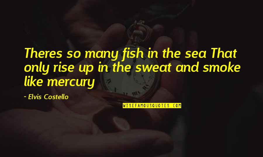 Home Buying Quotes By Elvis Costello: Theres so many fish in the sea That
