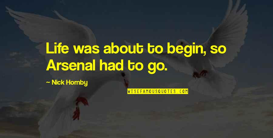 Homeowners Insurance Michigan Quotes By Nick Hornby: Life was about to begin, so Arsenal had