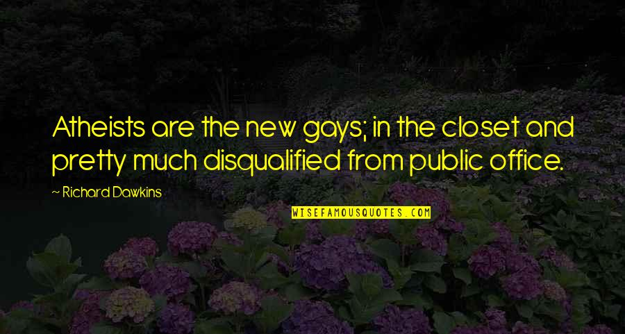 Hourly Stock Market Quotes By Richard Dawkins: Atheists are the new gays; in the closet