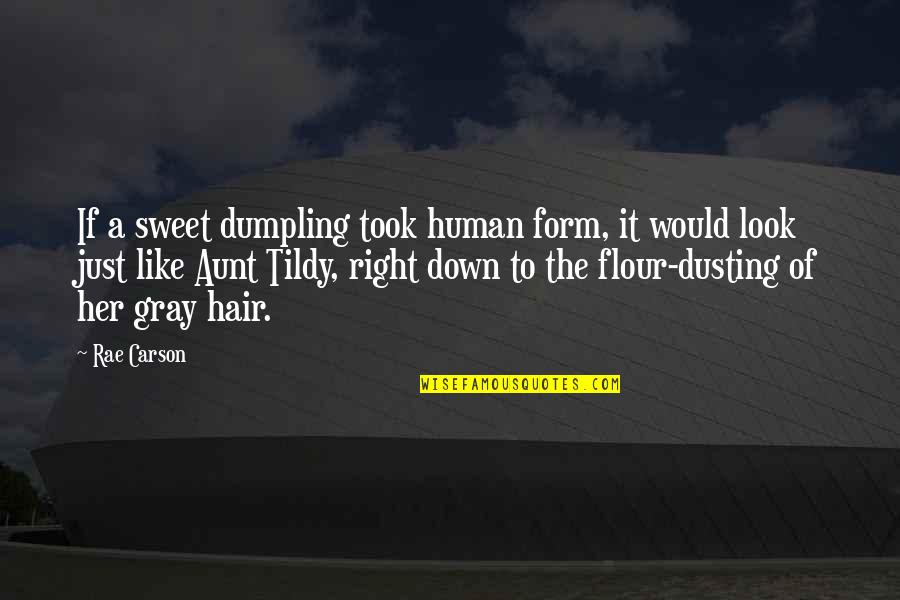 Human Right Quotes By Rae Carson: If a sweet dumpling took human form, it