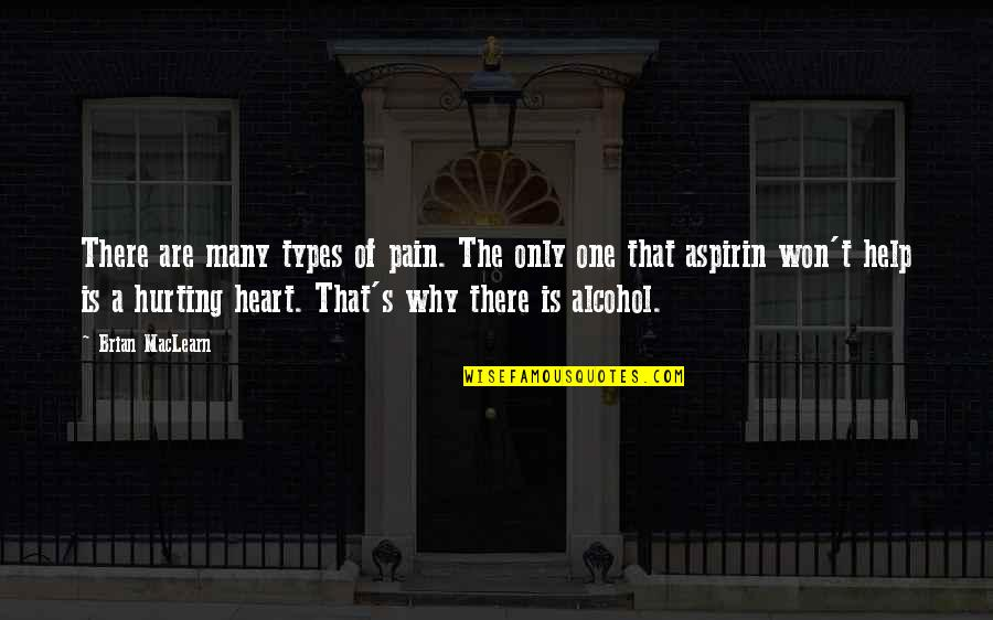 Hurts Heart Quotes By Brian MacLearn: There are many types of pain. The only