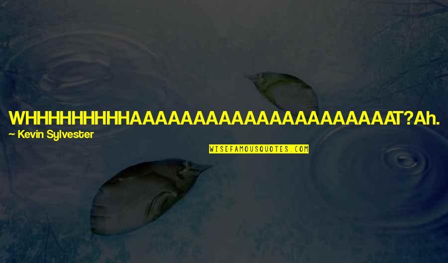 I Am A Joke Quotes By Kevin Sylvester: WHHHHHHHHHAAAAAAAAAAAAAAAAAAAAAT?Ah. I see we are now into the