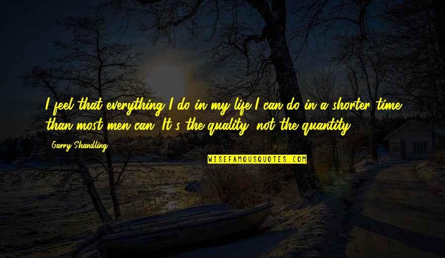I Can Do Everything Quotes By Garry Shandling: I feel that everything I do in my
