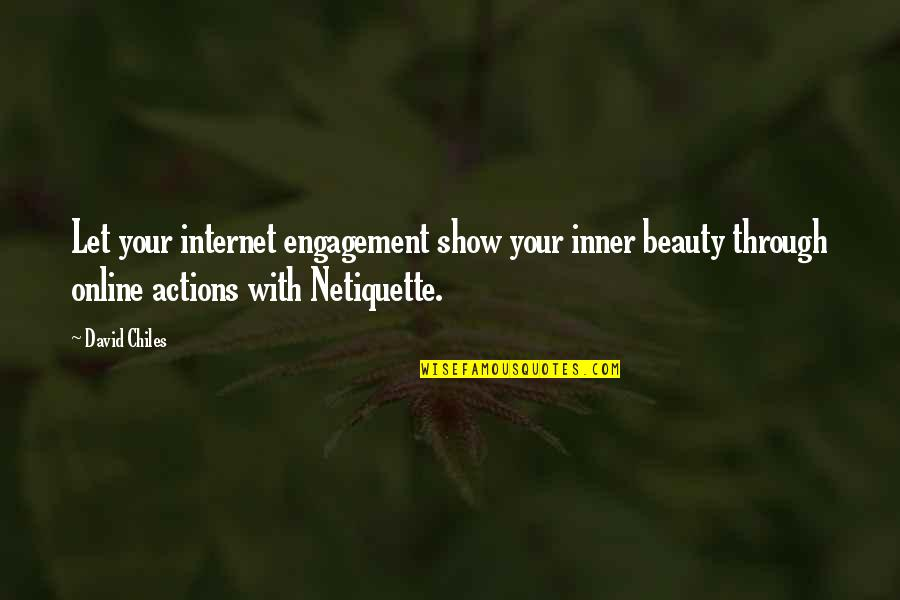 Iconosquare Single Quotes By David Chiles: Let your internet engagement show your inner beauty