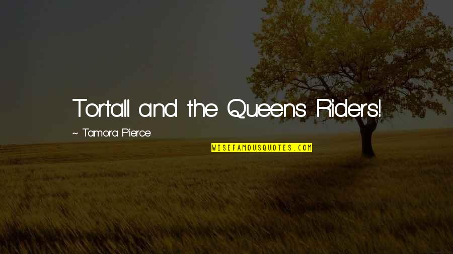 If A Man Cries Quotes By Tamora Pierce: Tortall and the Queens Riders!