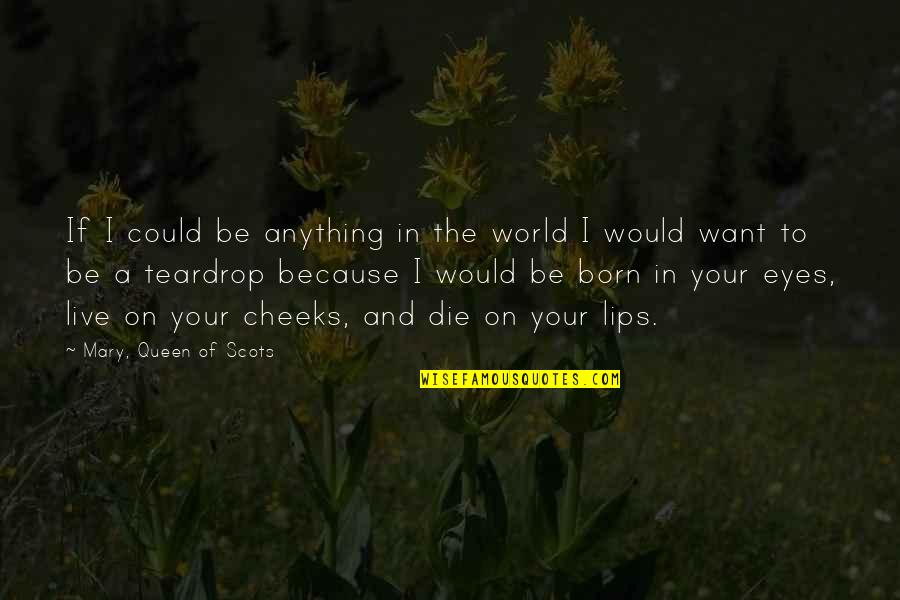If I Die Love Quotes By Mary, Queen Of Scots: If I could be anything in the world