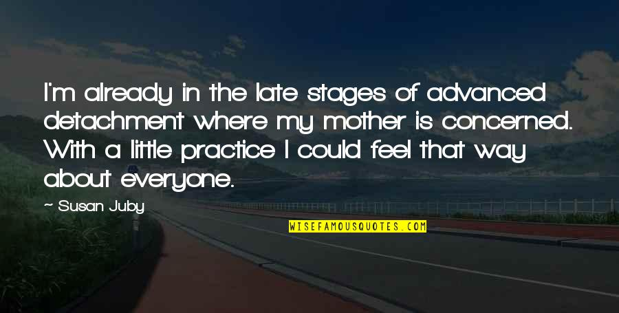 I'm A Mother Quotes By Susan Juby: I'm already in the late stages of advanced