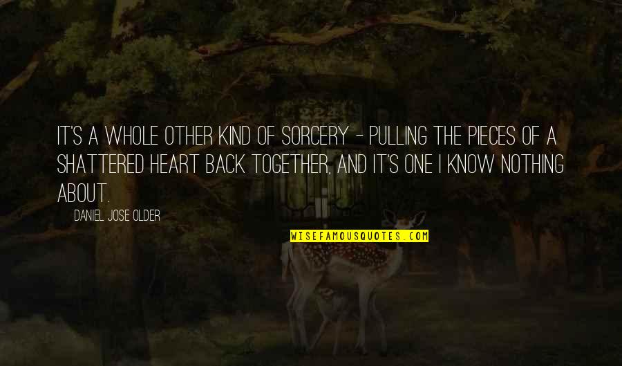 I'm One Of A Kind Quotes By Daniel Jose Older: It's a whole other kind of sorcery -