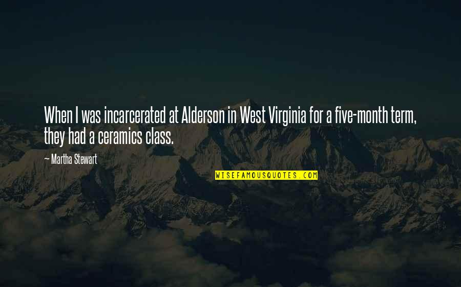 Importance Of Taking Action Quotes By Martha Stewart: When I was incarcerated at Alderson in West