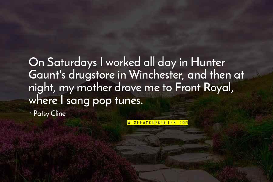 In My Day Quotes By Patsy Cline: On Saturdays I worked all day in Hunter