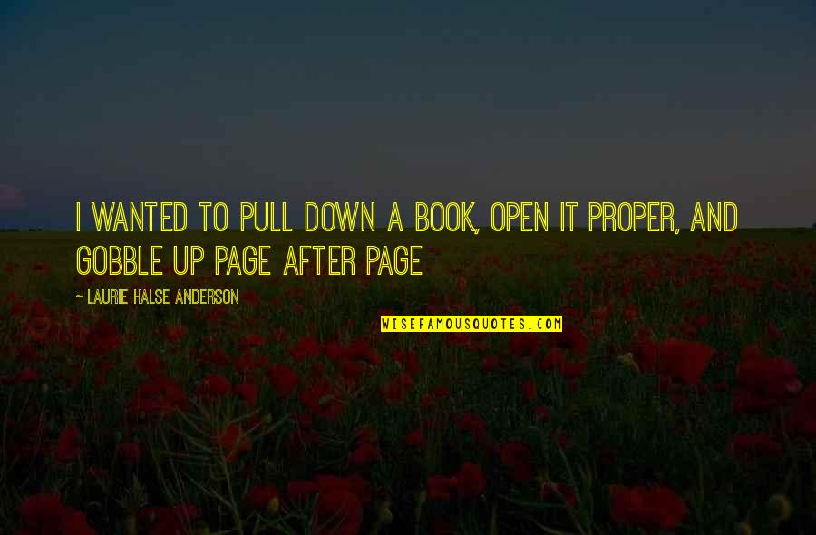 Independence Day Wallpaper With Quotes By Laurie Halse Anderson: I wanted to pull down a book, open