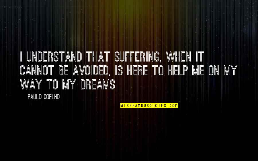Inner Feelings Quotes By Paulo Coelho: I understand that suffering, when it cannot be