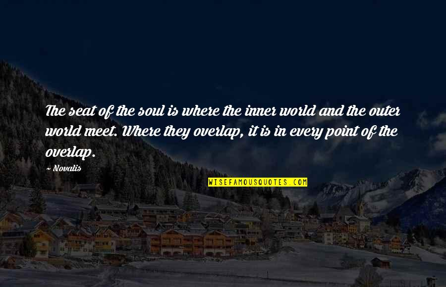 Inner World Outer World Quotes By Novalis: The seat of the soul is where the