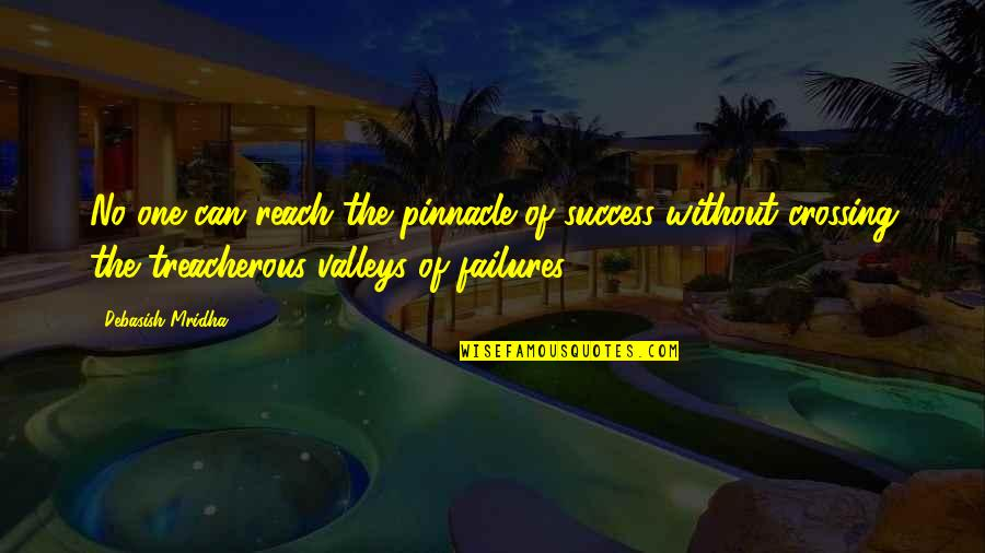 Inspirational Failures Quotes By Debasish Mridha: No one can reach the pinnacle of success