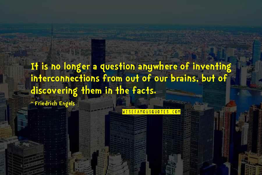 Inspirational Hockey Team Quotes By Friedrich Engels: It is no longer a question anywhere of