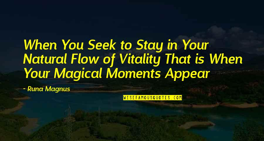Inspirational Icelandic Quotes By Runa Magnus: When You Seek to Stay in Your Natural
