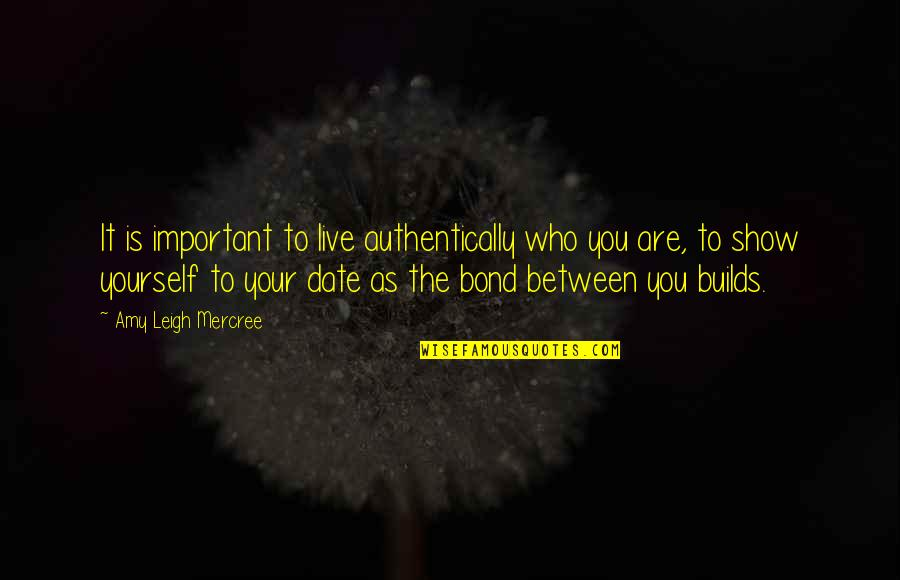 Inspirational Tumblr Quotes By Amy Leigh Mercree: It is important to live authentically who you