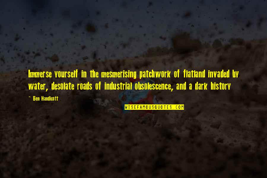 Intercoursing Quotes By Ben Handicott: Immerse yourself in the mesmerising patchwork of flatland