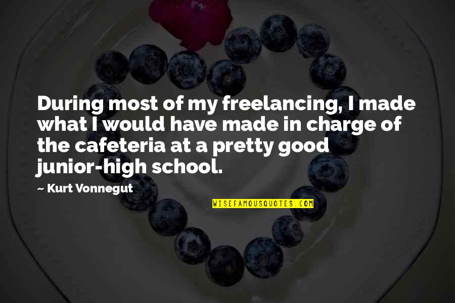 Islanding Quotes By Kurt Vonnegut: During most of my freelancing, I made what