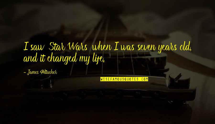 I've Changed My Life Quotes By James Altucher: I saw 'Star Wars' when I was seven