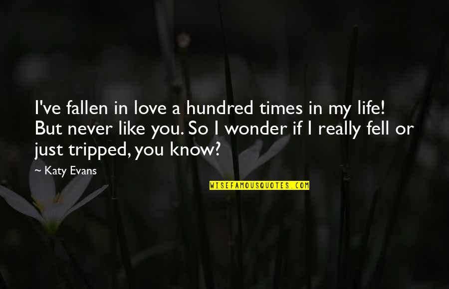 I've Fallen In Love Quotes By Katy Evans: I've fallen in love a hundred times in