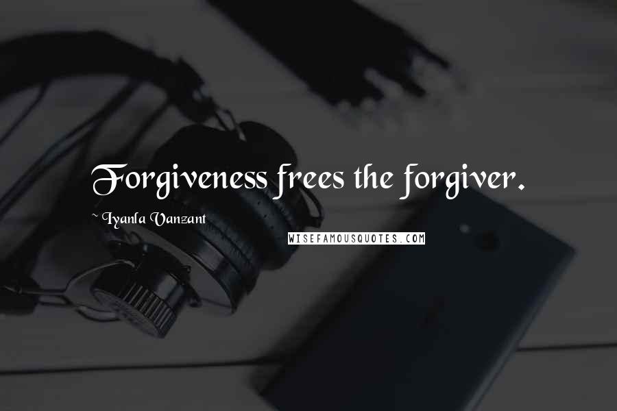 Iyanla Vanzant quotes: Forgiveness frees the forgiver.