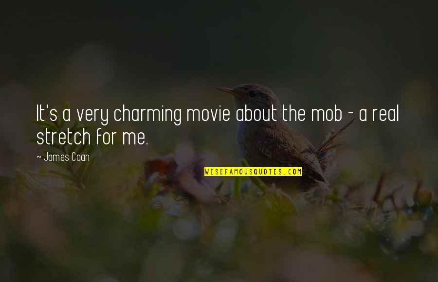 James Caan Movie Quotes By James Caan: It's a very charming movie about the mob