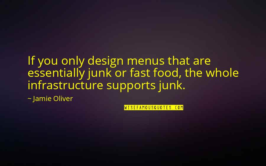 Jamie Oliver Quotes By Jamie Oliver: If you only design menus that are essentially