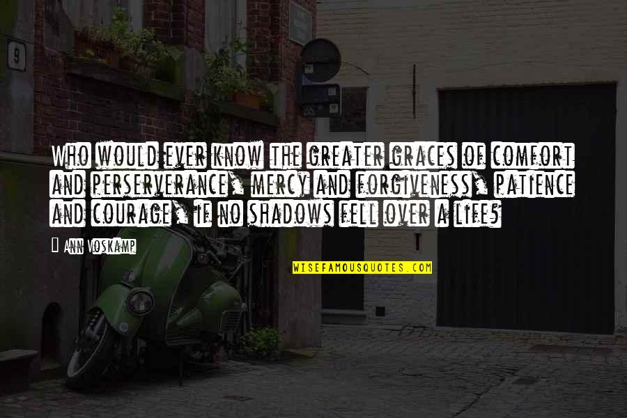 Jan Matzeliger Quotes By Ann Voskamp: Who would ever know the greater graces of