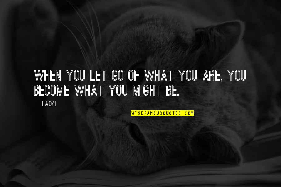 Jander Quotes By Laozi: When you let go of what you are,