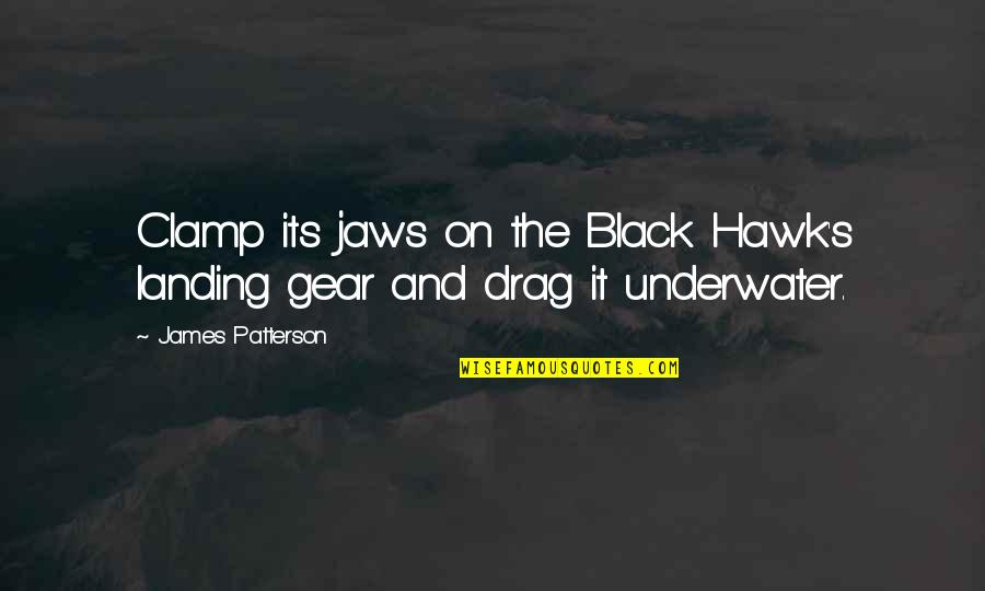 Jaws Quotes By James Patterson: Clamp its jaws on the Black Hawk's landing