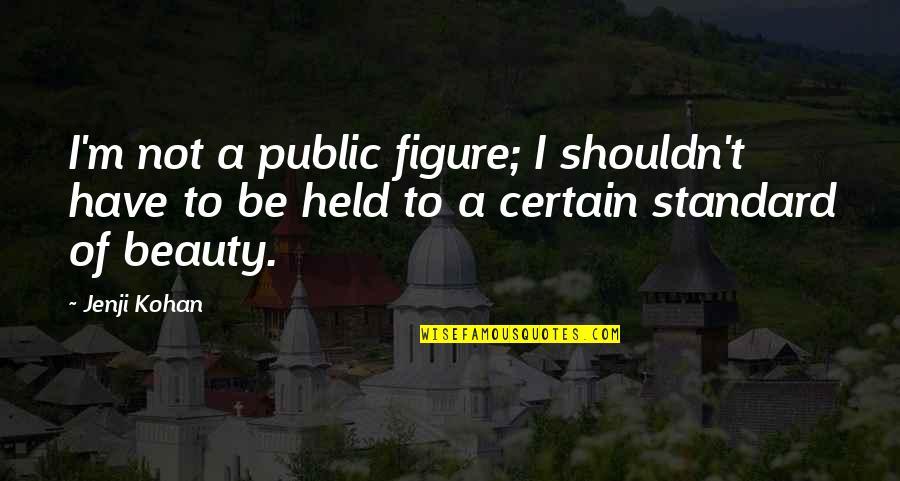 Jenji Kohan Quotes By Jenji Kohan: I'm not a public figure; I shouldn't have