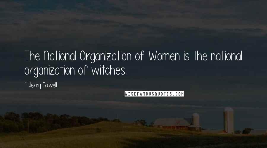 Jerry Falwell quotes: The National Organization of Women is the national organization of witches.