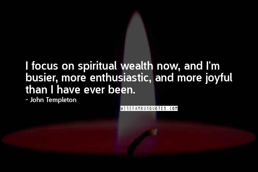 John Templeton quotes: wise famous quotes, sayings and