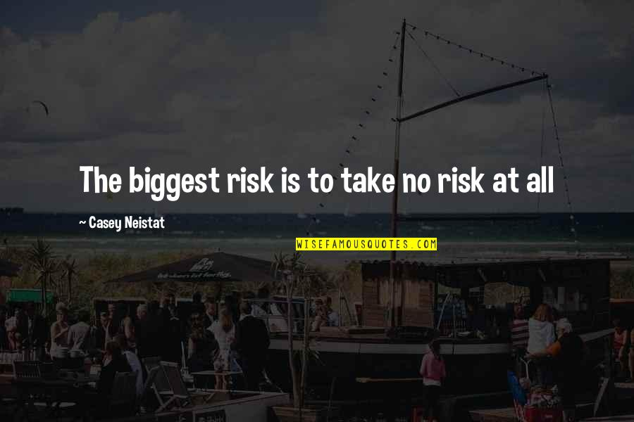 Julio Velasco Quotes By Casey Neistat: The biggest risk is to take no risk