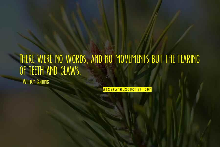 King Daphnes Nohansen Hyrule Quotes By William Golding: There were no words, and no movements but