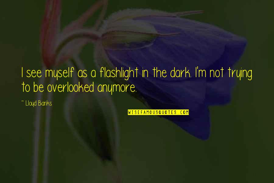 Kink Quotes By Lloyd Banks: I see myself as a flashlight in the