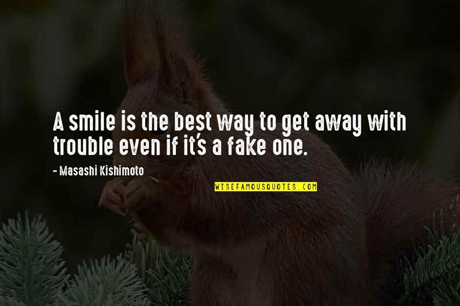 Kishimoto Masashi Quotes By Masashi Kishimoto: A smile is the best way to get