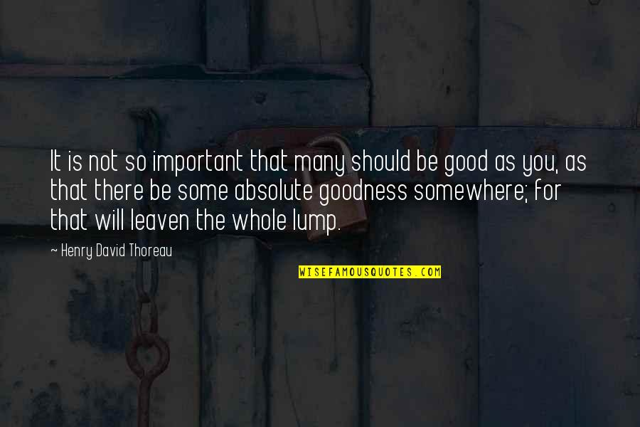 Kitchen Chalkboard Quotes By Henry David Thoreau: It is not so important that many should