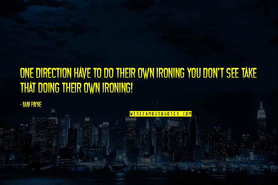 Knit Hats With Quotes By Liam Payne: One Direction have to do their own ironing