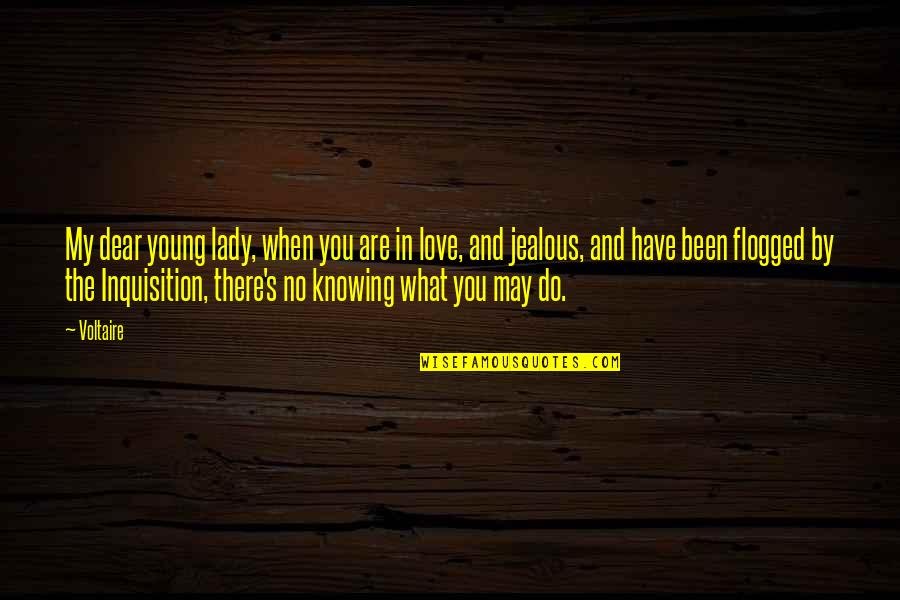 Knowing What You Have Quotes By Voltaire: My dear young lady, when you are in