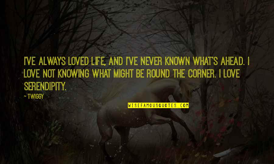 Knowing You're Loved Quotes By Twiggy: I've always loved life, and I've never known