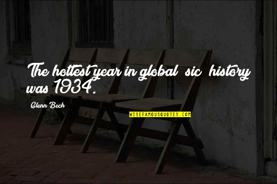 Konstantin E. Tsiolkovsky Quotes By Glenn Beck: The hottest year in global [sic] history was